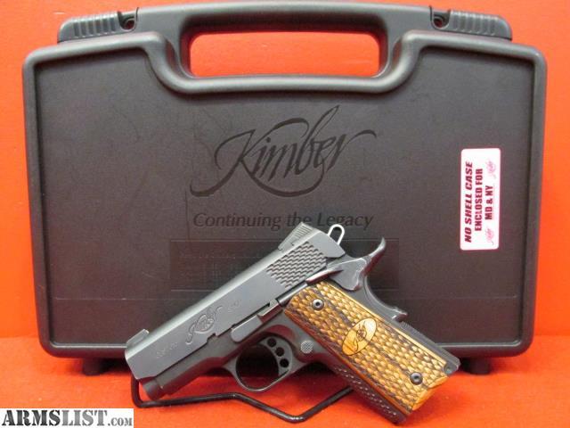 ARMSLIST - For Sale: Kimber Ultra Raptor II 1911  45ACP 3 0