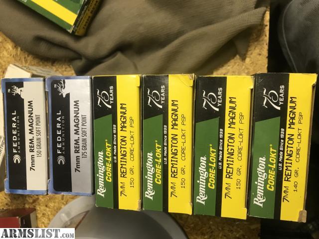 ARMSLIST - For Sale: Ruger M77 RS 7mm rem mag