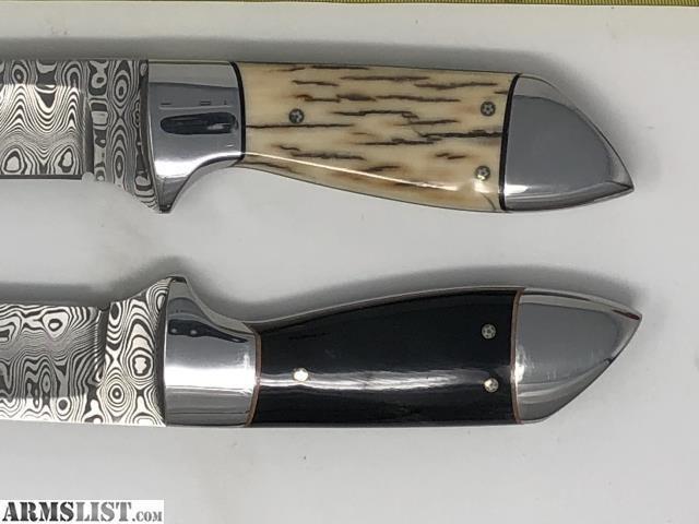 ARMSLIST - For Sale/Trade: Gaetan Beauchamp Damascus Horn