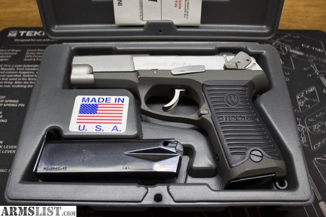 ARMSLIST - For Sale: Ruger P89 9mm With mags & holster Exc