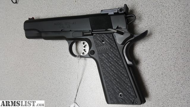 ARMSLIST - For Sale: SPRINGFIELD RANGE OFFICER ELITE TARGET