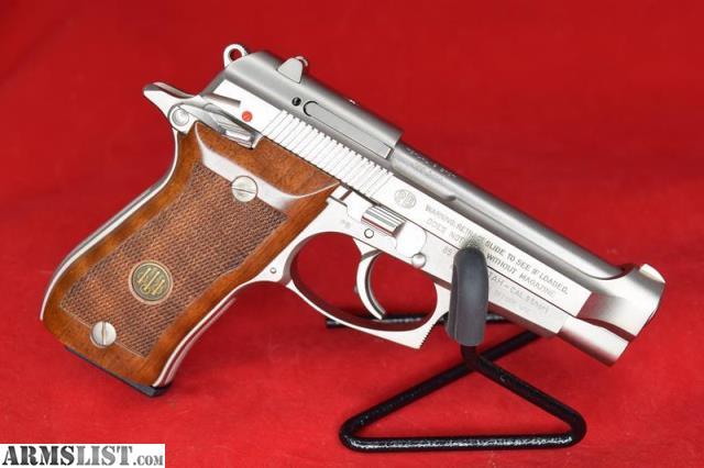 ARMSLIST - For Sale: Boxed Beretta Cheetah Model 85FS Nickel