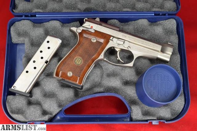 ARMSLIST - For Sale: Boxed Beretta Cheetah Model 85FS Nickel  380 ACP