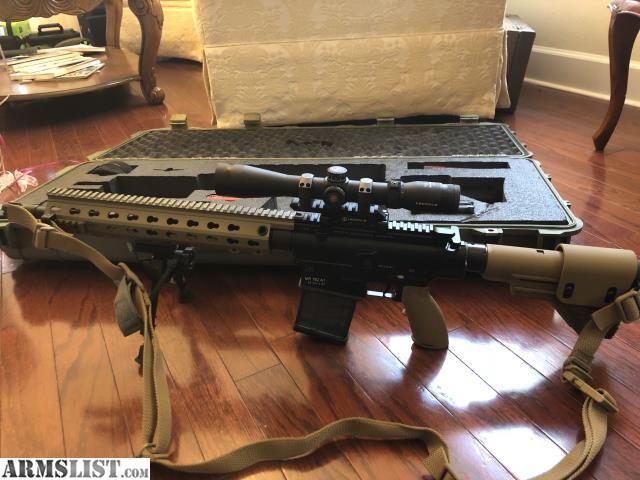 ARMSLIST - For Sale: HK MR762 A1 LRP