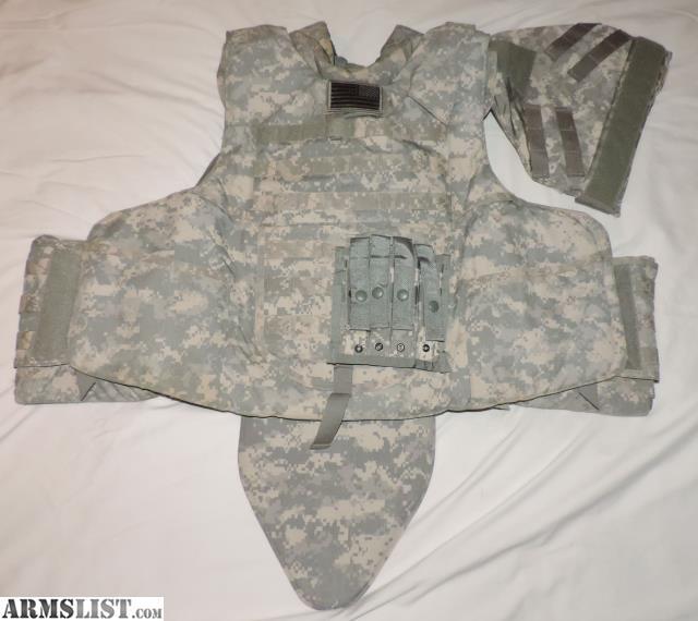ARMSLIST - For Sale: Body Armor Carrier IOTV XL KDH w/ Level