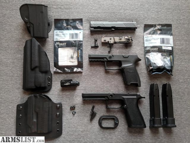 ARMSLIST - For Sale/Trade: P320 FCU, parts and accessories
