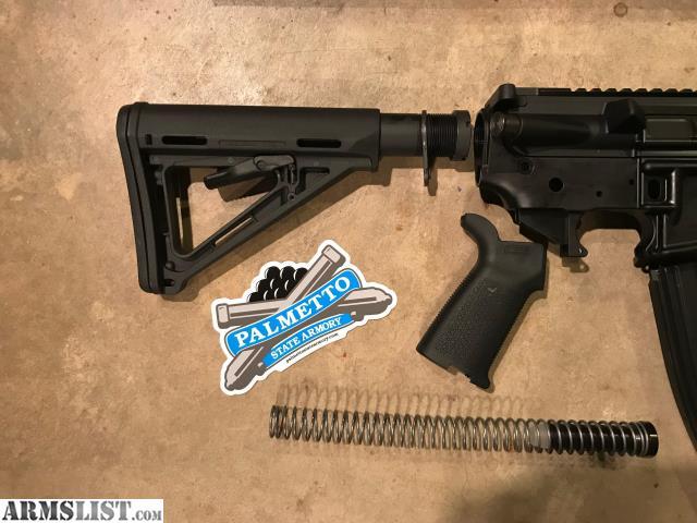 Armslist For Sale Psa Ar 15 16 Quot Midlength 5 56 Nato 1 7