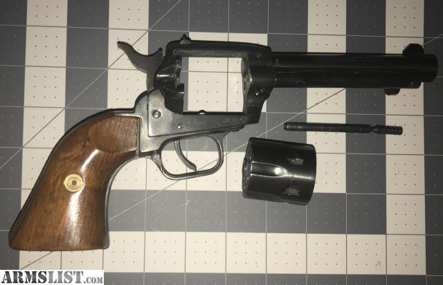 Armi F LLI Tanfoglio Model TA76 .22 LR SA Revolver For