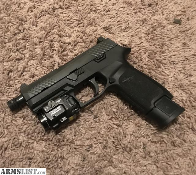 ARMSLIST - For Sale/Trade: Sig P320 Tacops with extras