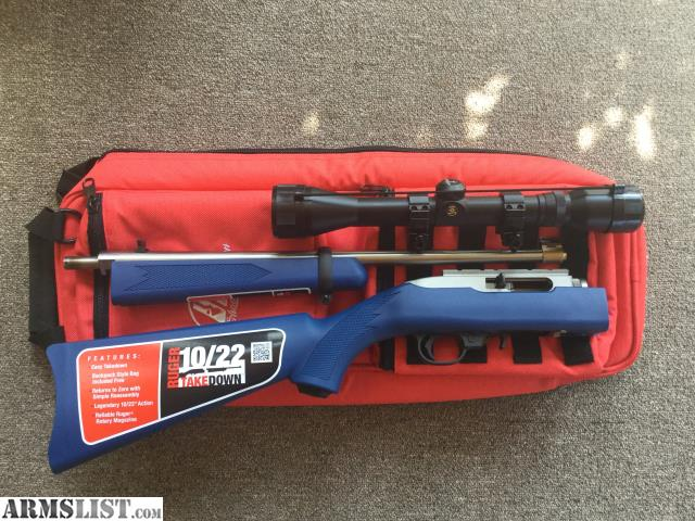 Armslist For Sale Trade Ruger 10 22 Takedown 2012 Usa