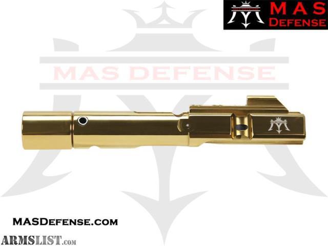 ARMSLIST - For Sale: MAS Defense 9MM BOLT CARRIER GROUP BCG GLOCK