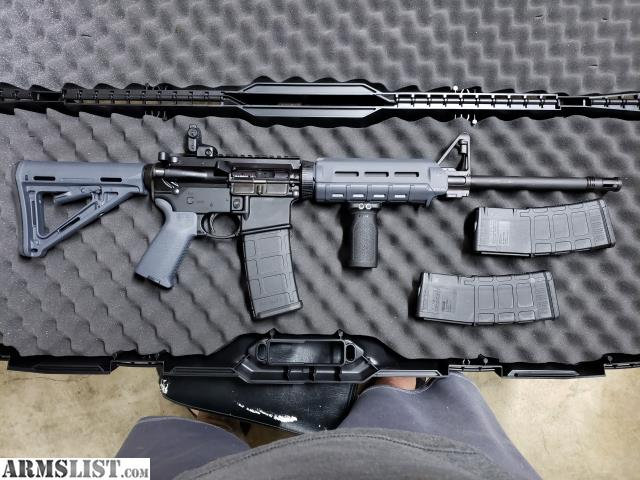 Delicieux I Have A Set Of Magpul MOE Furniture In Stealth Gray For Your Average  Mil Spec AR15. The Buttstock Is Mil Spec Size Not Commercial And The  Handguard Is ...