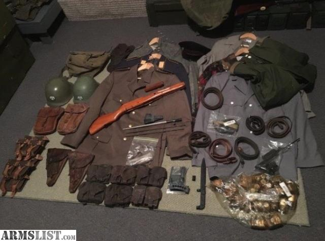 ARMSLIST - For Sale/Trade: Military collection Buy or Trade