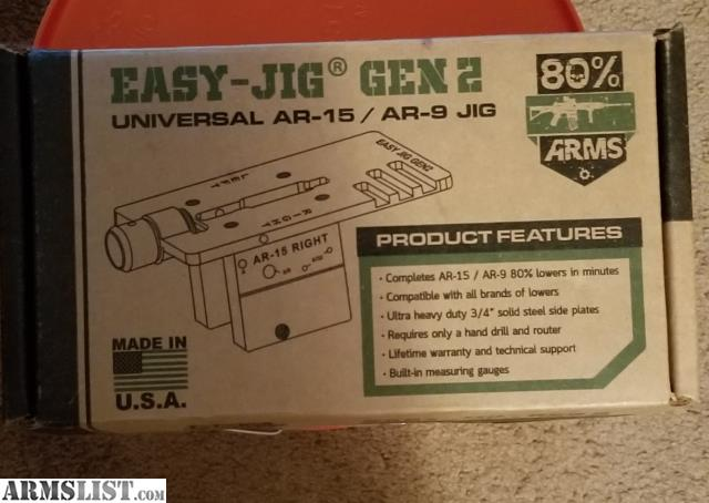 ARMSLIST - For Sale: Easy Jig Gen 2 by: 80%Arms