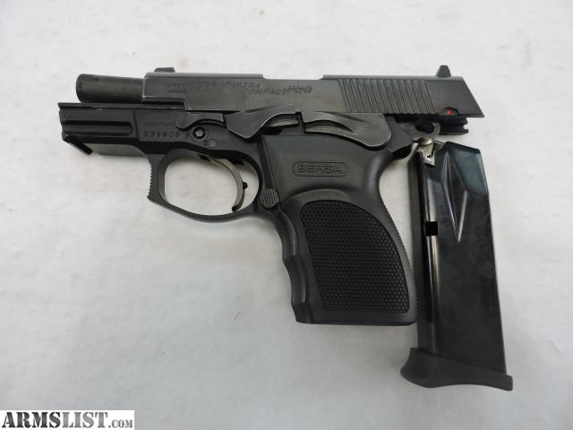 ARMSLIST - For Sale: Bersa Thunder 9 Pro Ultra Compact 9mm