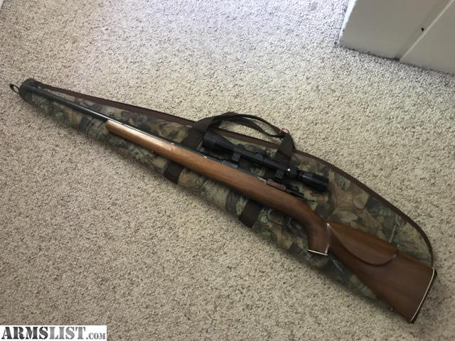 Very Clean Post 1935 8MM Mauser K98 For Sale Bolt Action Is Bent Down Rifle Has Been Well Taken Care Of Looking 150 OBO