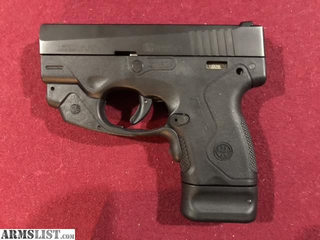 ARMSLIST - For Sale: Beretta Nano 9mm Crimson Trace Laser Sights
