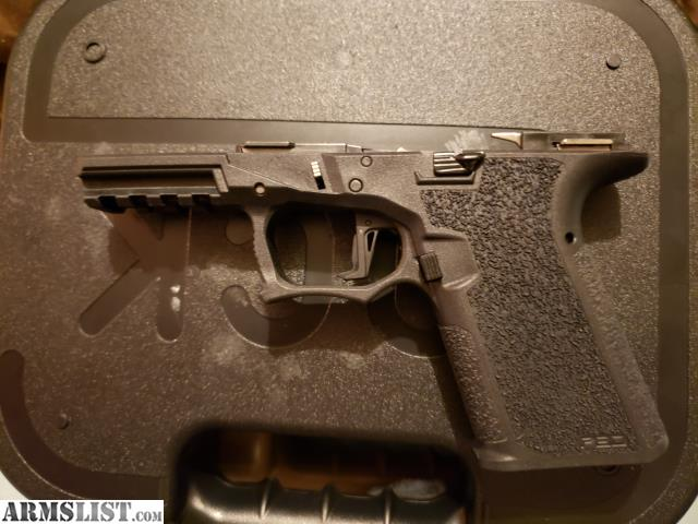 ARMSLIST - For Sale: G19 serialized p80 frame
