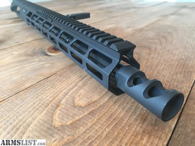 "ARMSLIST - For Sale: Foxtrot Mike 16"" Side Charging 9mm Upper"