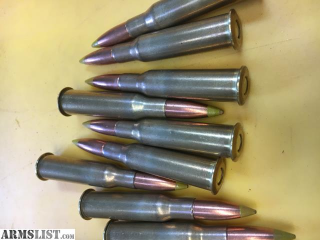 ARMSLIST - For Sale: Bulgarian yellow-tip 7 62x54R ammo - 165 rds