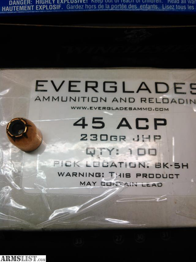 ARMSLIST - For Sale/Trade: 45 acp reloading