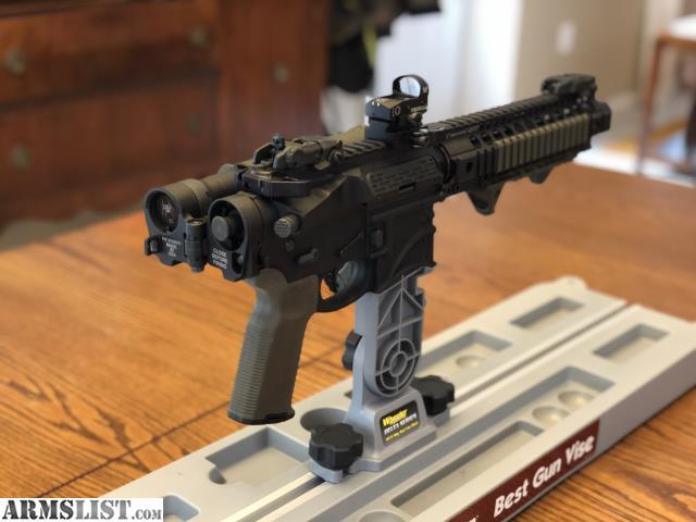 ARMSLIST - For Sale: AR pistol 300 blackout w/ folding stock