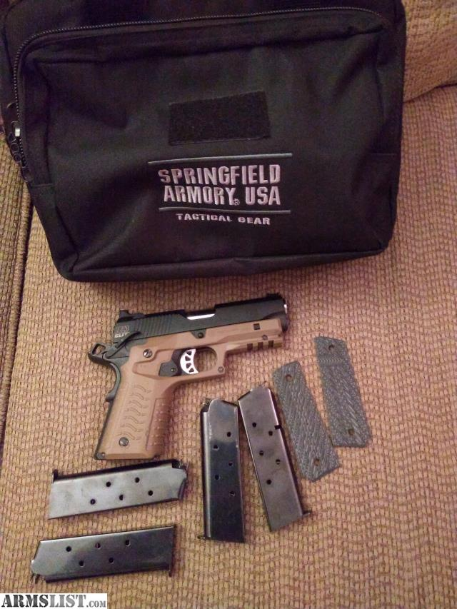ARMSLIST - For Sale/Trade: Springfield Range Officer Elite