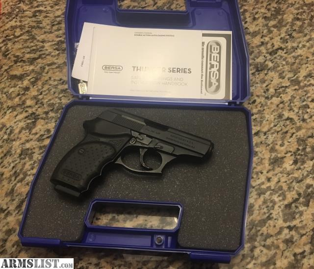 ARMSLIST - For Sale: BERSA Thunder CC 380 ACP UNFIRED NEW IN
