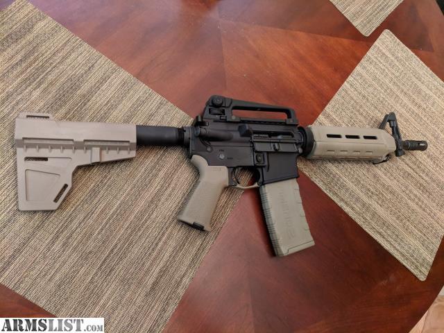 Armslist For Sale Bnib 10 5 Quot Ar 15 Pistol Fde Magpul