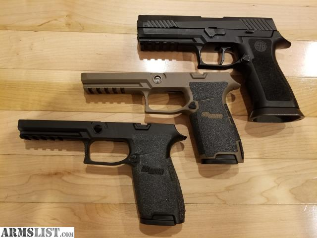 ARMSLIST - For Sale: Sig p320 full size with X5 grip module