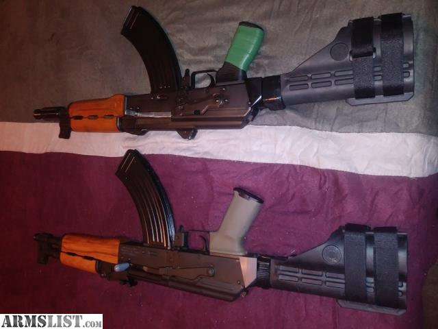 ARMSLIST - For Sale/Trade: PAP M92 or Draco AK Pistol