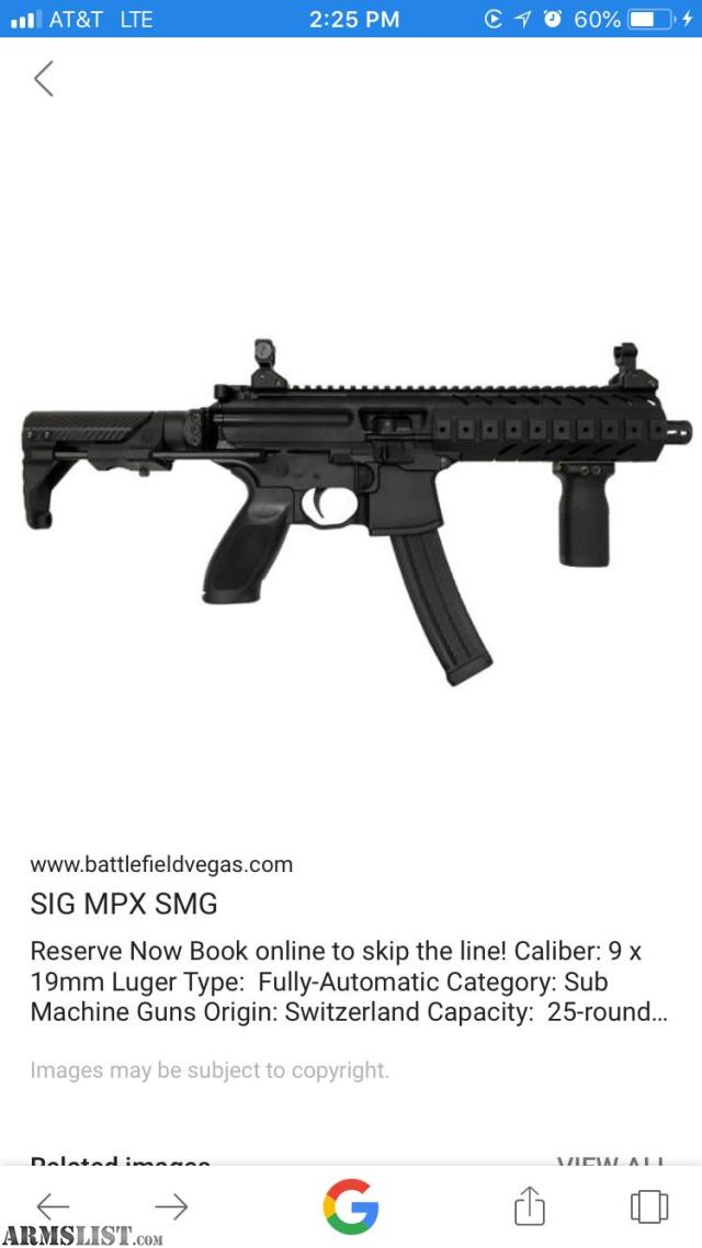 "ARMSLIST - Want To Buy: ISO 8"" SIG MPX handguard"