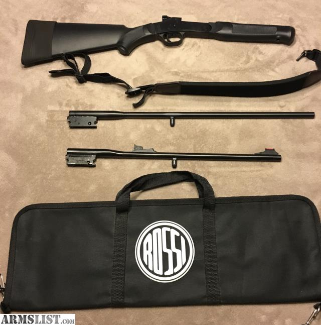ARMSLIST - For Sale/Trade: Rossi youth 410/22 combo