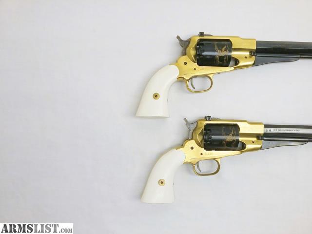 ARMSLIST - For Sale: 1858 Remington - Bison - Brass Frame - 44Cal