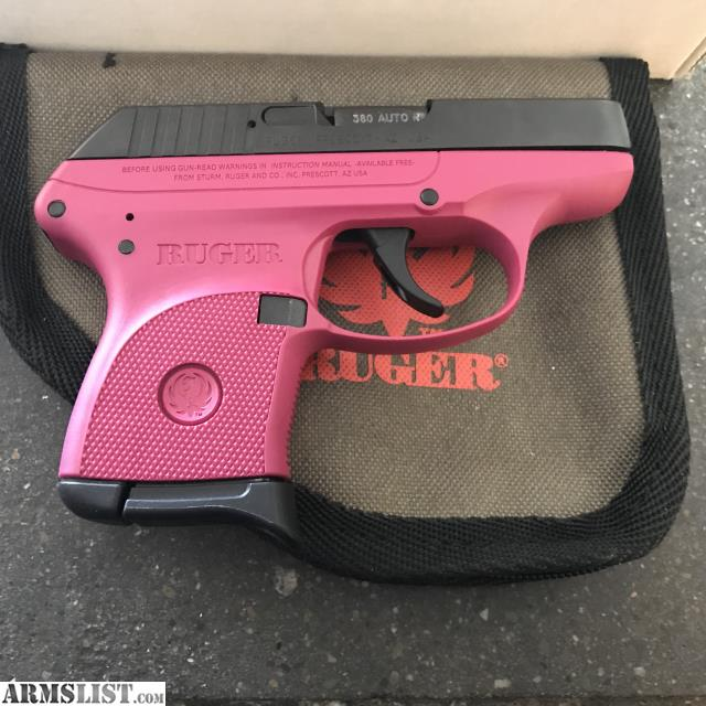 Armslist For Sale Ruger Lcp Rare Raspberry Color 180
