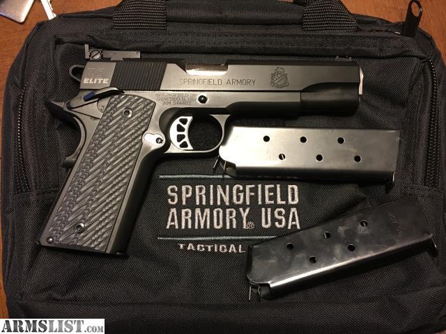 ARMSLIST - For Sale: Springfield 1911 Range Officer Elite