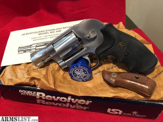 ARMSLIST - For Sale: Smith & Wesson 649 Pre-Lock 38 spl