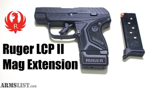 ARMSLIST - For Sale: Ruger LCP II(2) Viridian Green Laser and Kydex