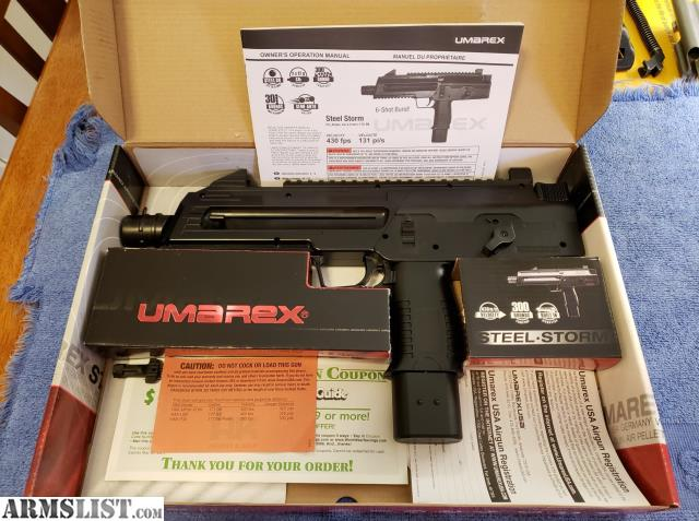 ARMSLIST - For Sale: FULL AUTO!! Mp5 and Steel storm BB guns