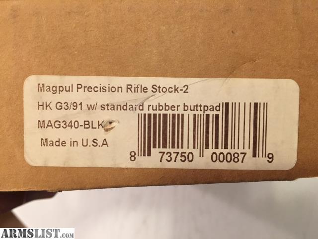 ARMSLIST - For Sale: MagPul PRS-2 HK 91/G3 for sale
