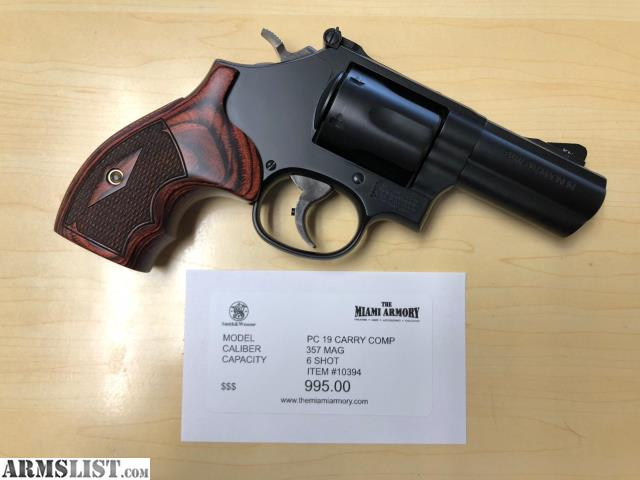 ARMSLIST - For Sale: NEW Smith & Wesson Model 19 Carry Comp