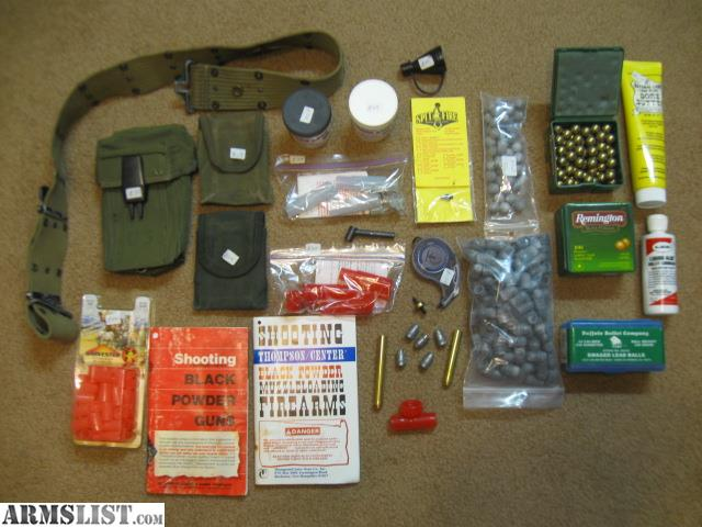 ARMSLIST - For Sale:  54 Cal  Black Powder Ammo & Equipment