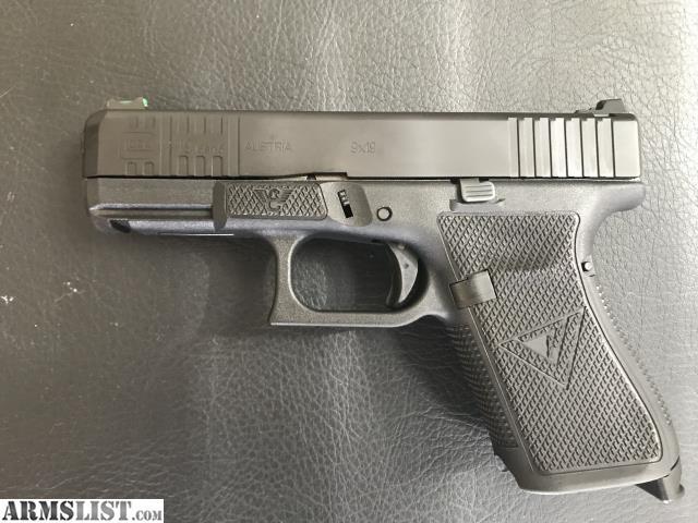 ARMSLIST - For Sale: Glock 19 gen 5 wilson combat vickers elite