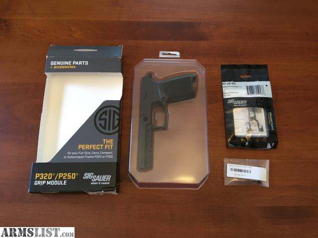 ARMSLIST - For Sale/Trade: P320 Grip Module and Takedown Lever