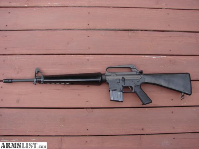 ARMSLIST - For Sale: Colt Retro AR15 M16A1 rifle