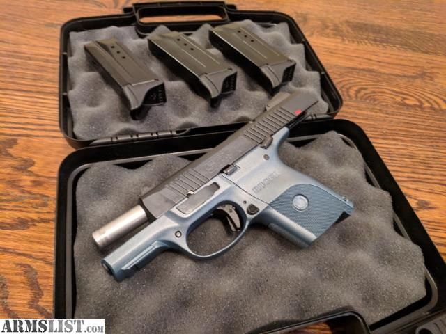 ARMSLIST - For Sale/Trade: Ruger SR9c - Titanium Blue - 3 Mags