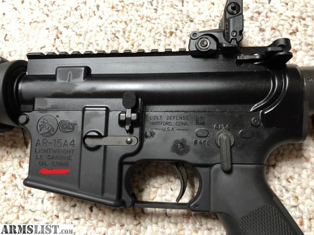 ARMSLIST - For Sale: Colt AR6720 Light Weight Tac Carbine AR-15