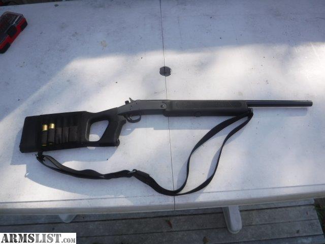 Armslist For Sale Nef Survivor Single Shot 20 Ga