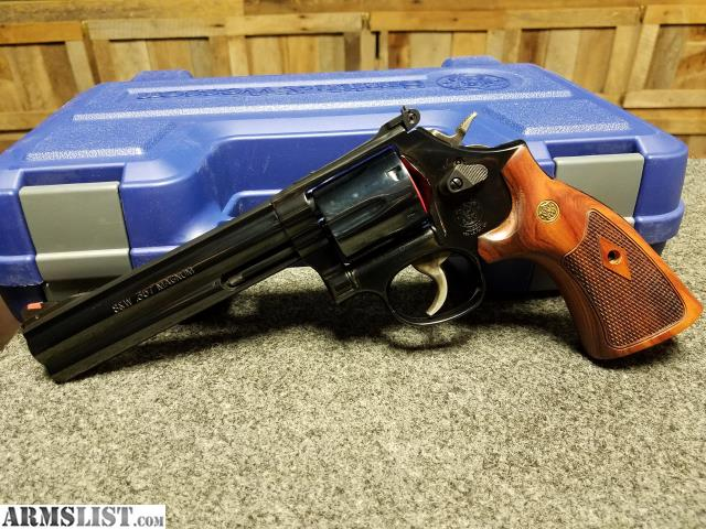 ARMSLIST - For Sale: SMITH AND WESSON 586 DISTINGUISH COMBAT