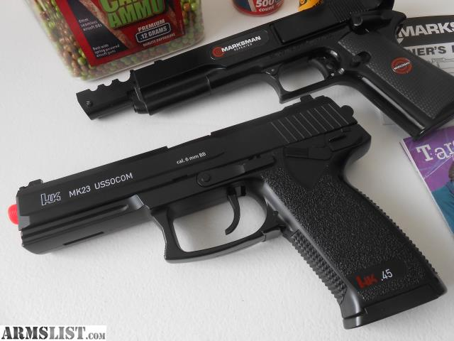 ARMSLIST - For Sale/Trade: HK MK23 USSOCOM  45 ACP Airsoft AND
